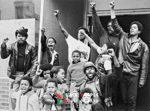 black people who embrace black power