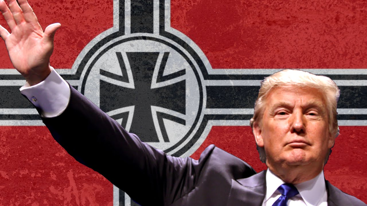 donald trump president nazi flag