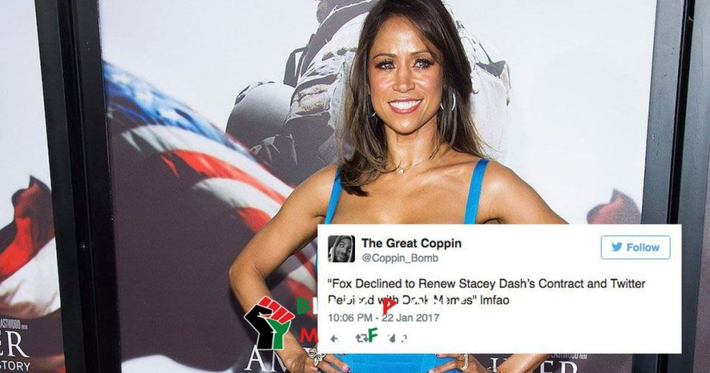 stacey dash done at fox news